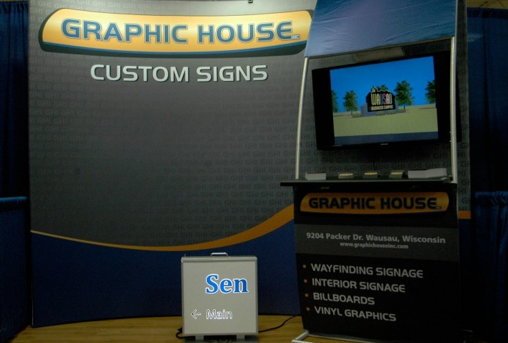 Exhibit and Trade Show Signs